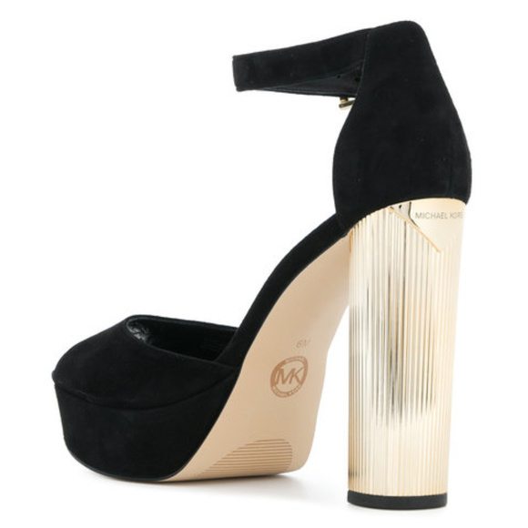 dbddeaf67e Michael Kors Paloma Suede Platform Sandal. M_5b0dacbddaa8f69eb38844ca